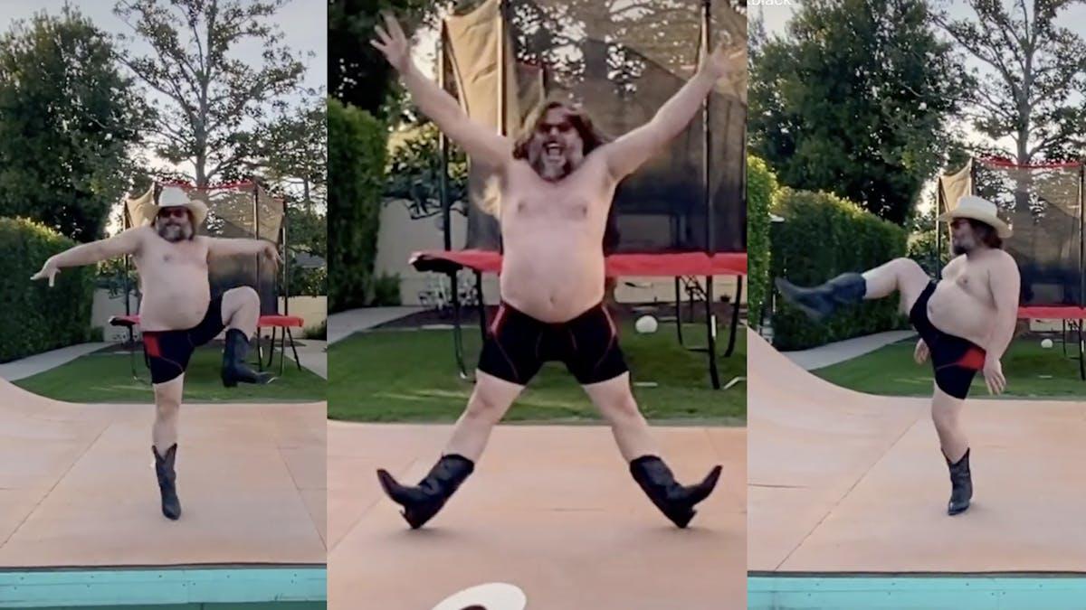 Jack Black Joins TikTok With Hilarious 30-Second Quarantine Dance ...