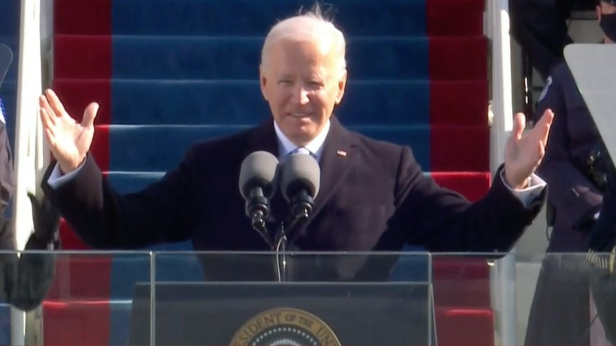 """Now we can finally make America great again"": Rock reacts to the inauguration of Joe Biden"