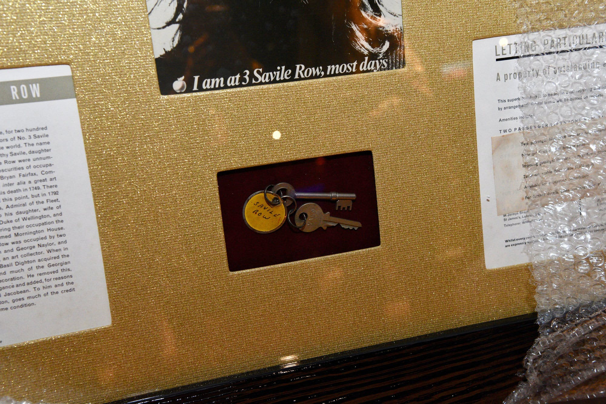 John Lennon Keys Close Up