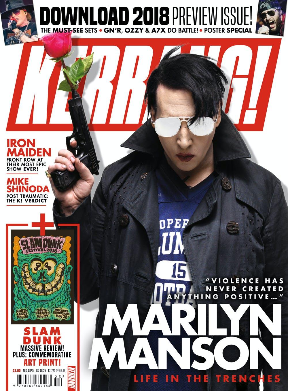 K1725 Marilyn Manson Cover
