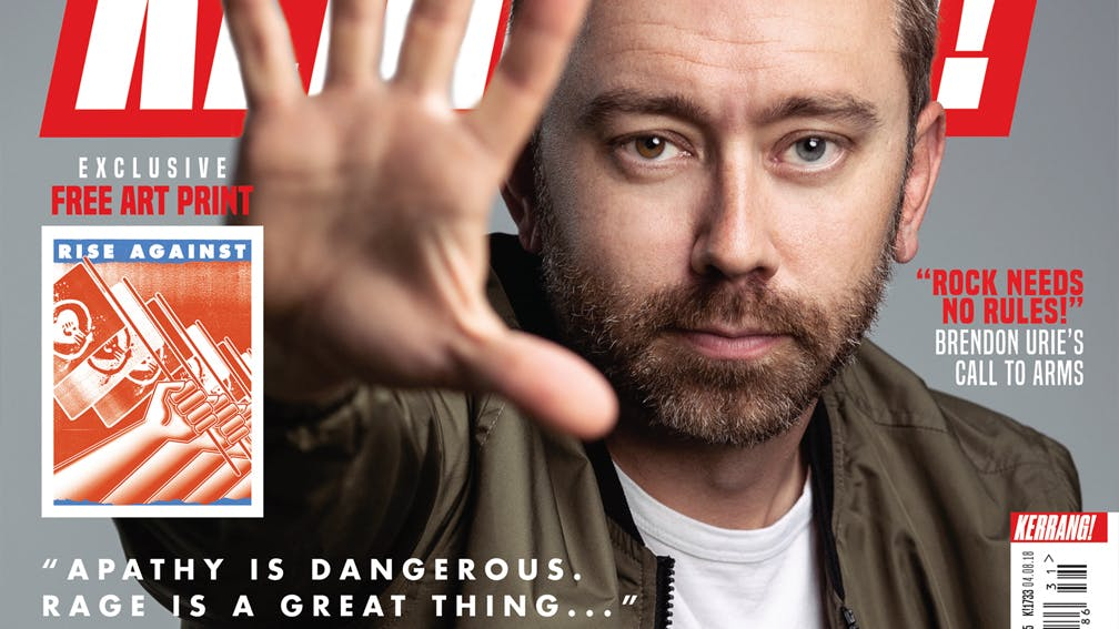 "K!1733: Rise Against – ""Apathy Is Dangerous. Rage Is A Great Thing…"""