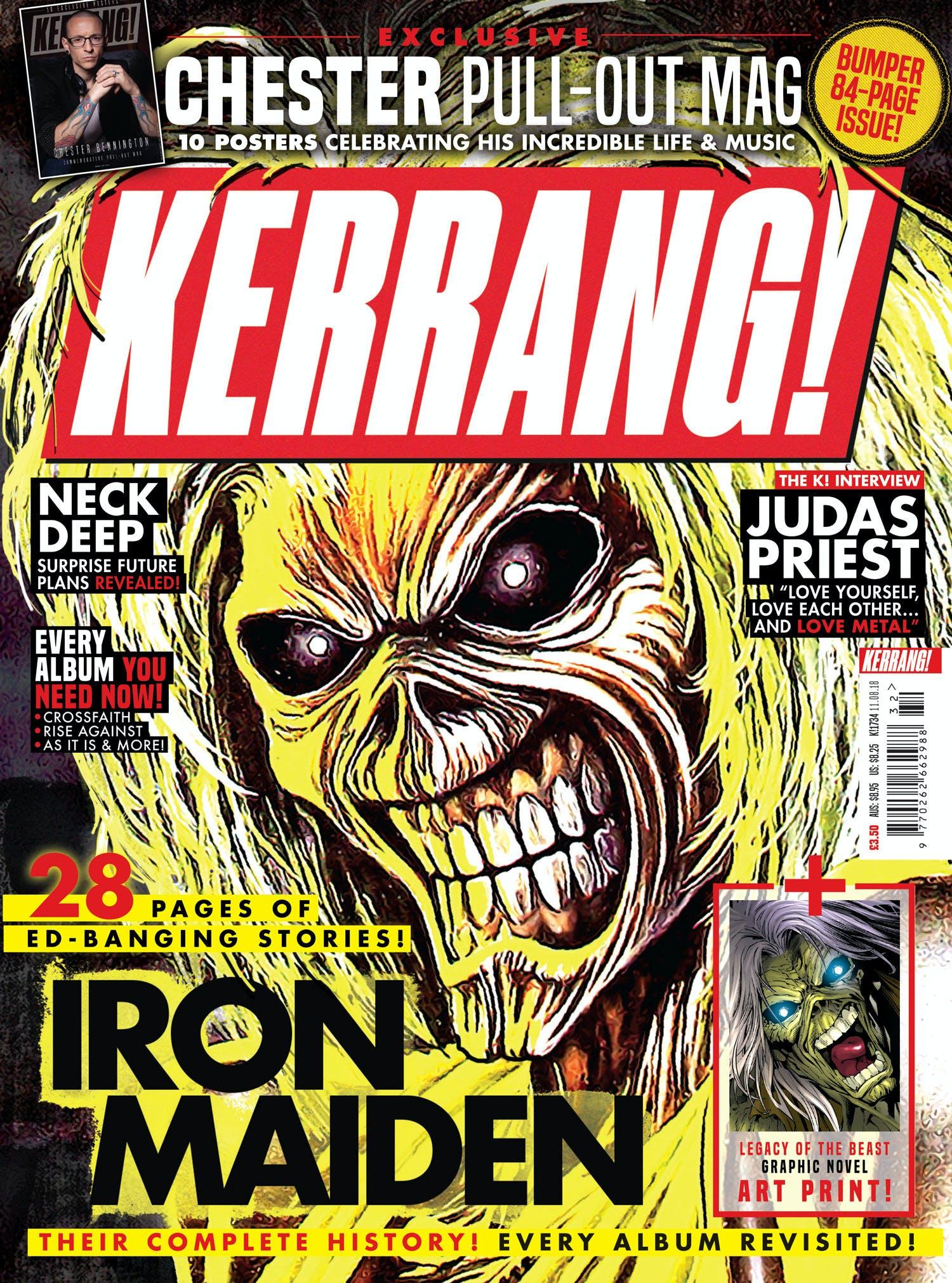 K1734 Iron Maiden Cover
