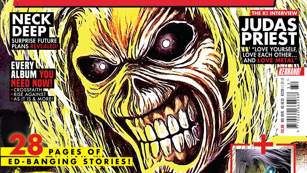 K!1734: Iron Maiden – 28 Pages Of Ed-Banging Stories!