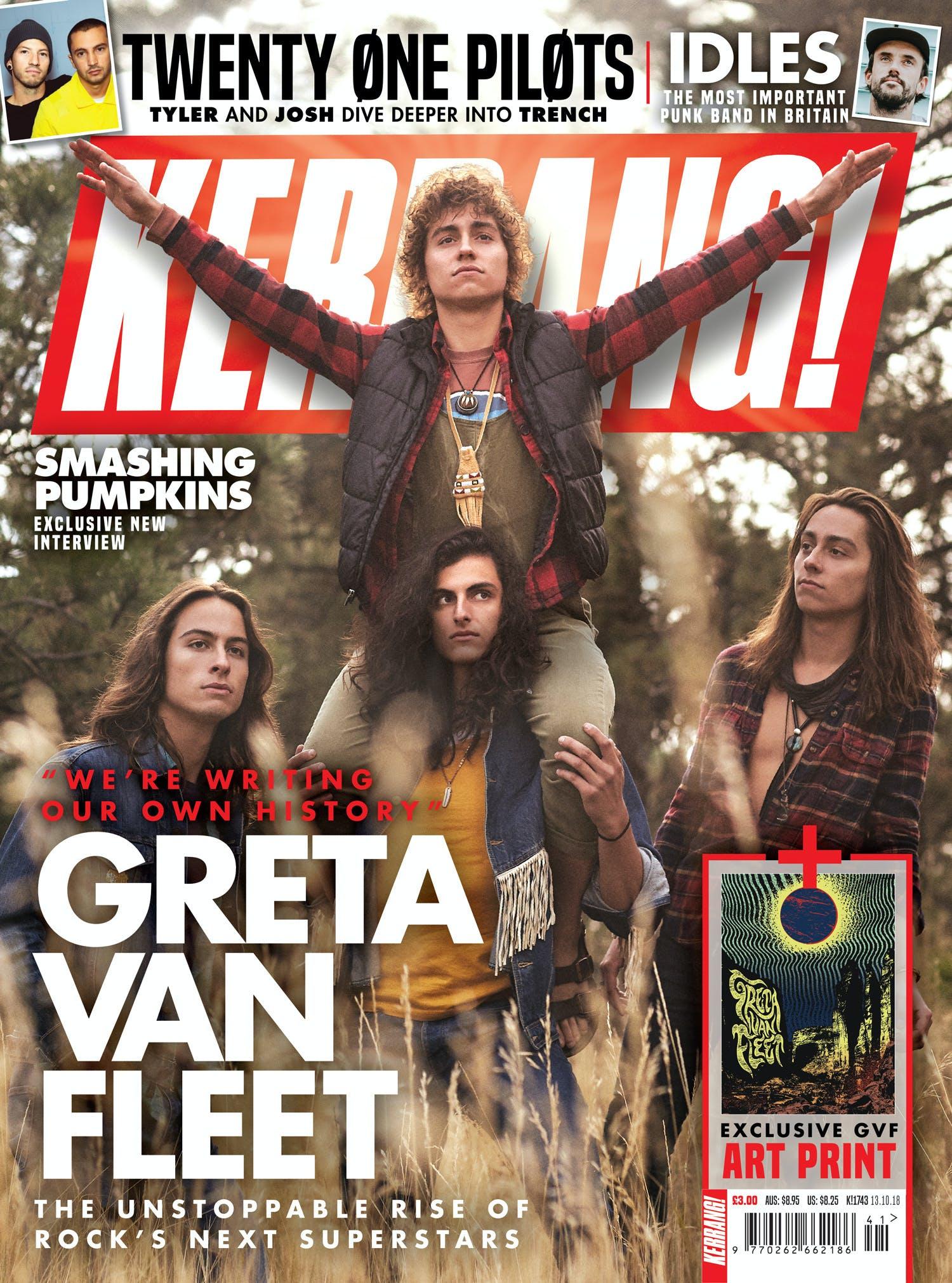 K1743 Greta Van Fleet Cover