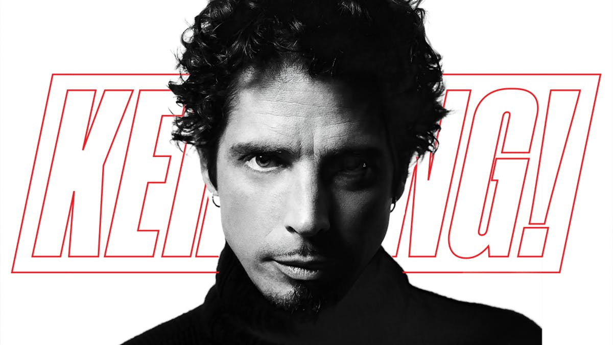 K!1749 – Chris Cornell: The Man, The Music, The Voice… By Kim Thayil