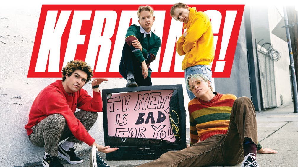 SWMRS: Rock's Next Generation Take Charge – Only In The New Issue Of Kerrang!