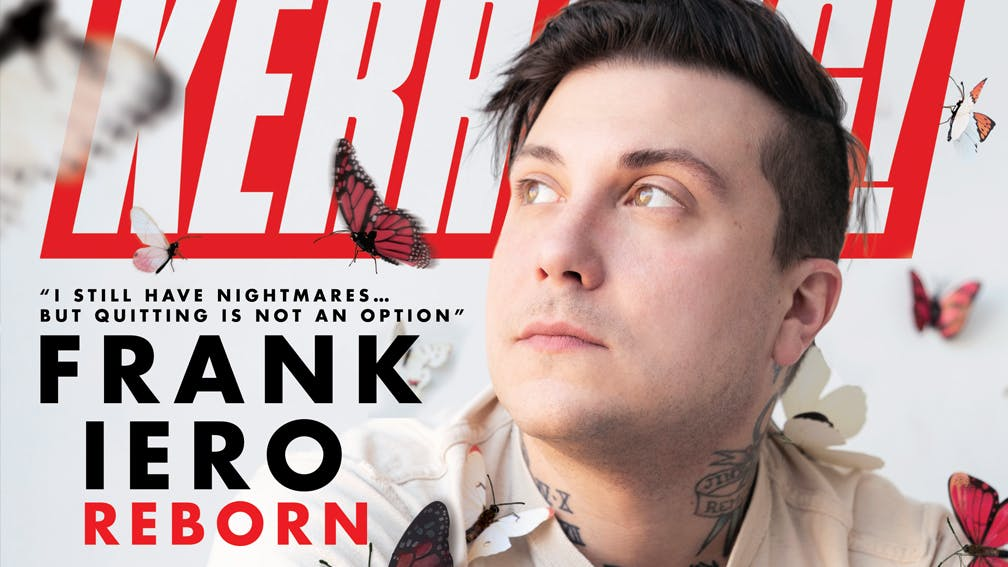"Frank Iero: ""I Still Have Nightmares… But Quitting Is Not An Option"""