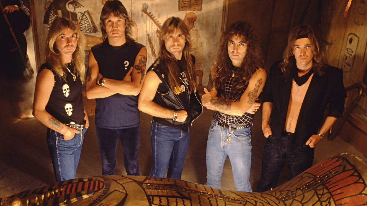 The Story Behind Powerslave By Iron Maiden