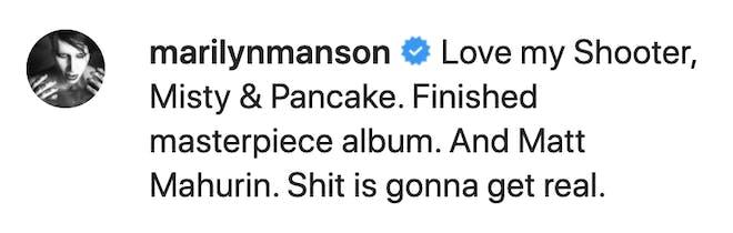 "Marilyn Manson >> álbum ""We Are Chaos"" - Página 3 Marilyn-Manson-Instagram-new-album-comment-2020"