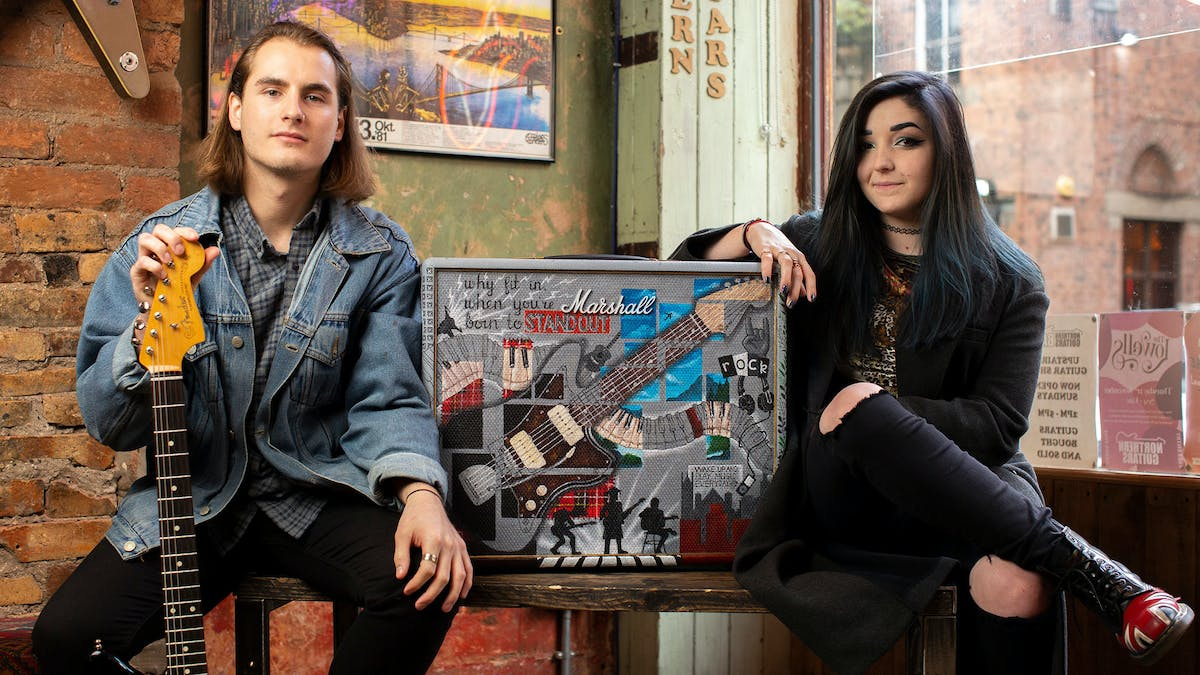 Marshall Bring Artists And Musicians Together To Create Stunning Amp Artwork — Kerrang!