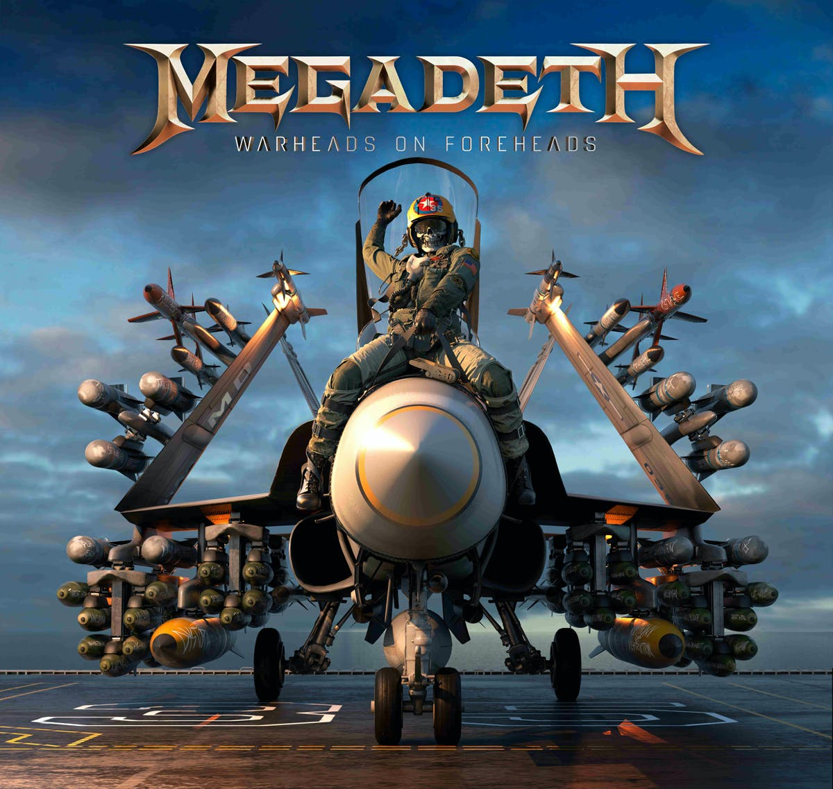 Megadeth Warheads On Foreheads Cover