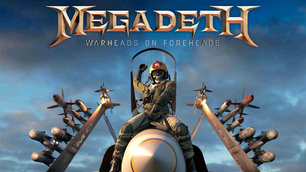 Megadeth Warheads On Foreheads Header