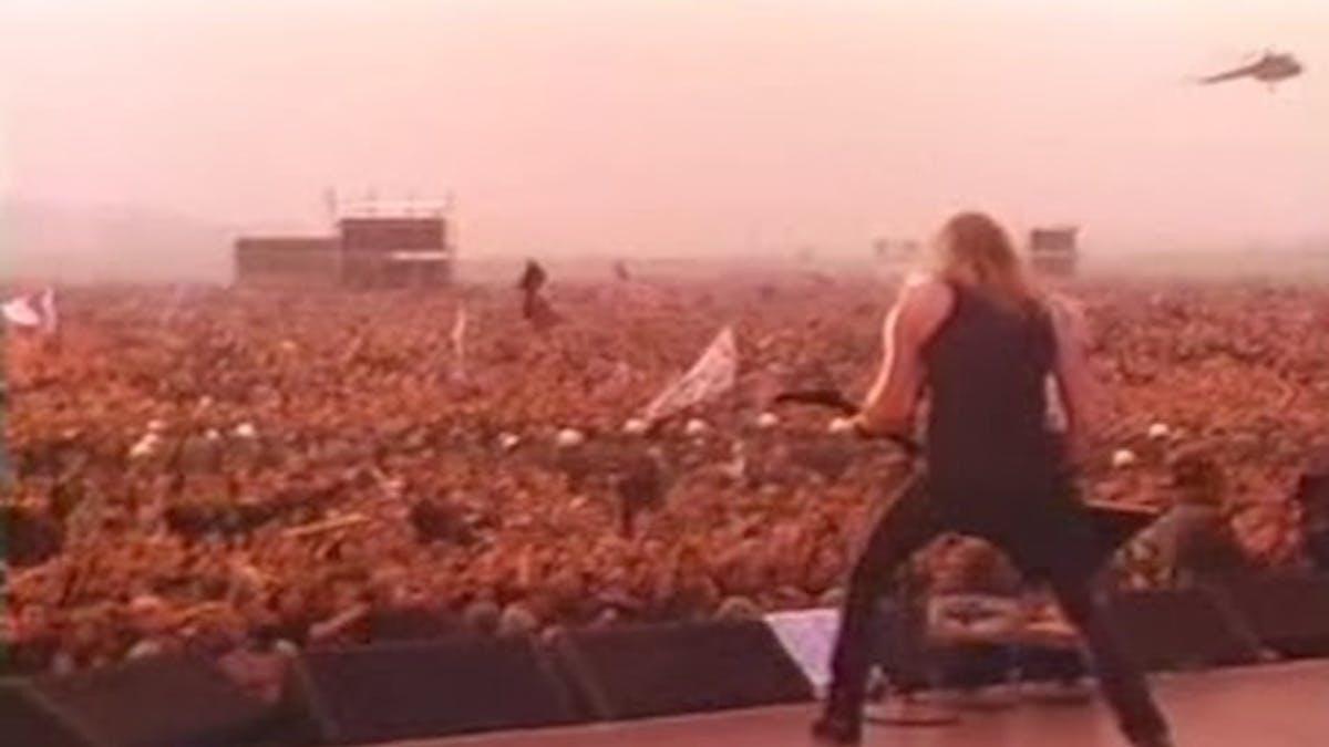 Metallica moscow 1991 song list