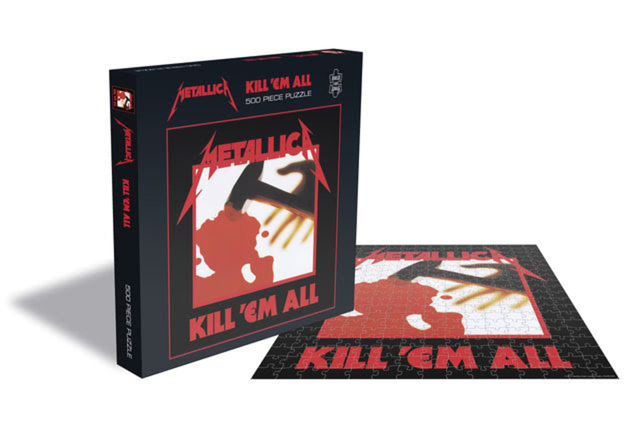 The First Four Metallica Albums' Covers Are Now Jigsaw Puzzles