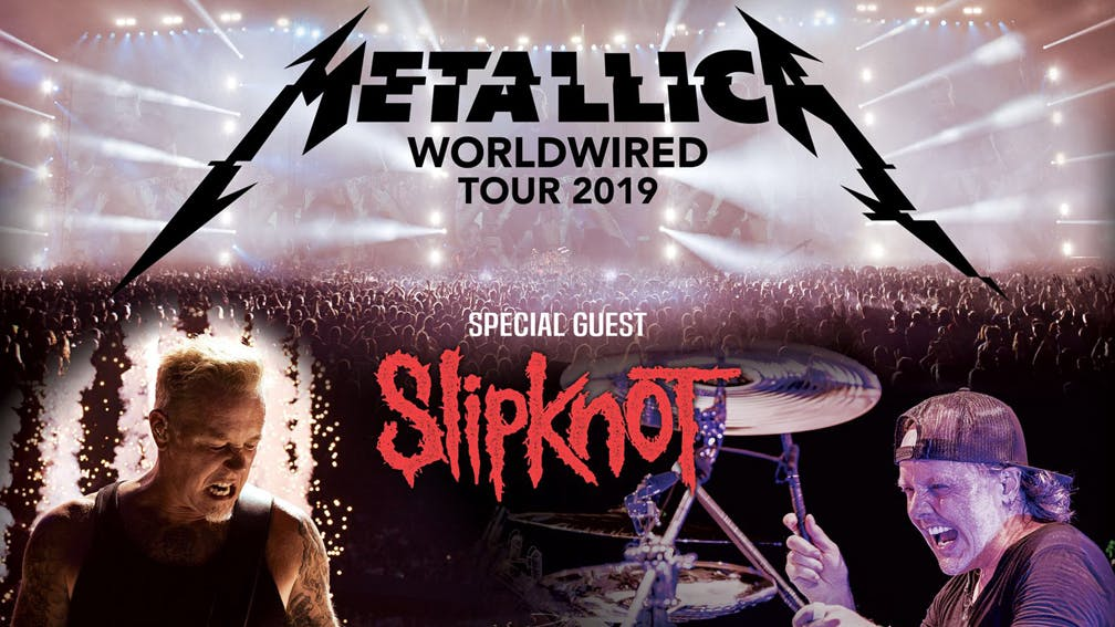 metallica and slipknot add two more dates to tour kerrang. Black Bedroom Furniture Sets. Home Design Ideas