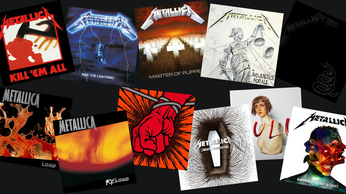 Every Metallica Album Ranked From Worst To Best