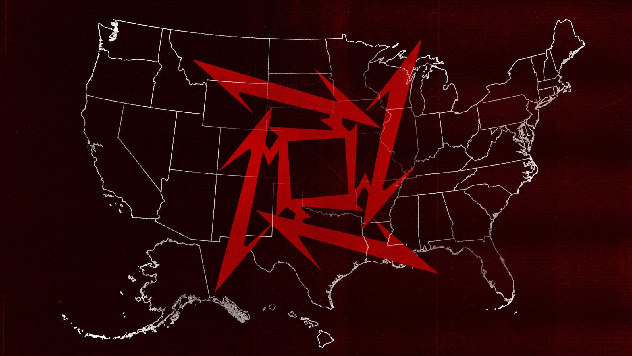 The United States Of Metallica — Kerrang!