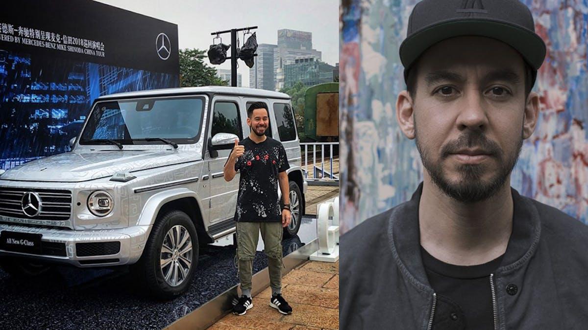 Photo of Mike Shinoda  - car