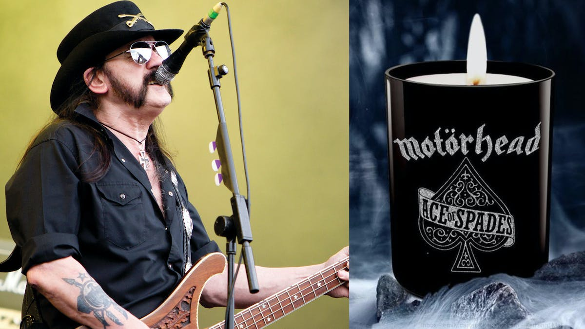A Lemmy Kilmister-Scented Candle Now Exists — Kerrang!