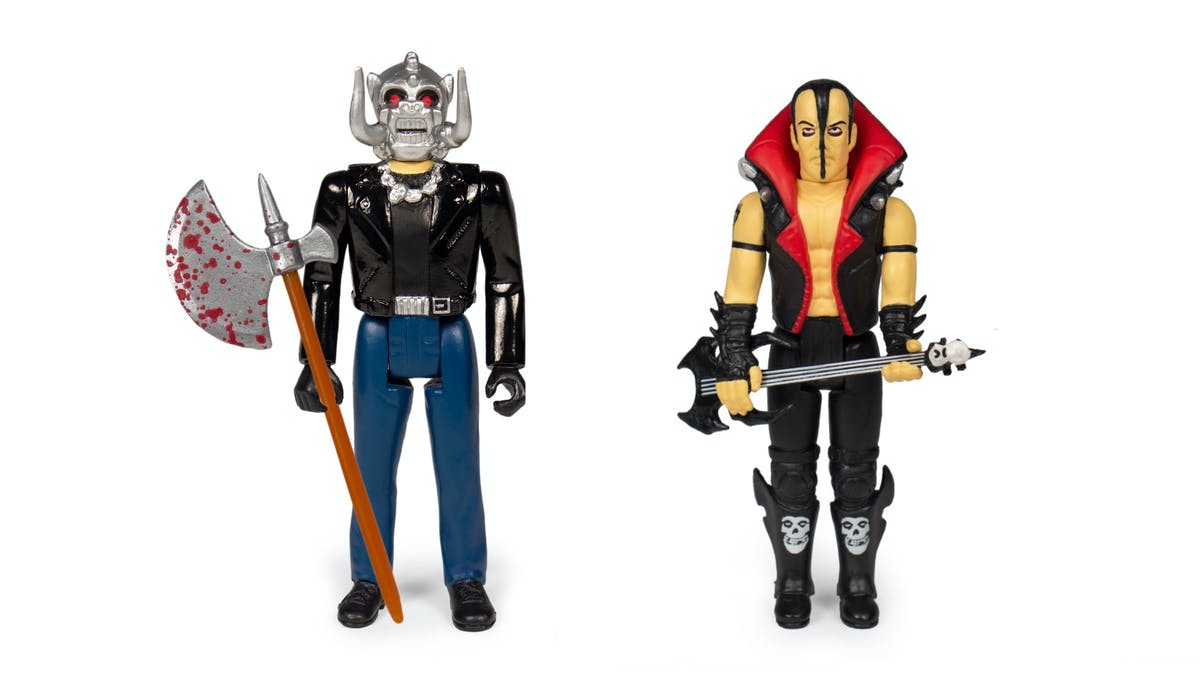 Motörhead's Warpig And The Misfits' Jerry Only Get Their Own Action Figures