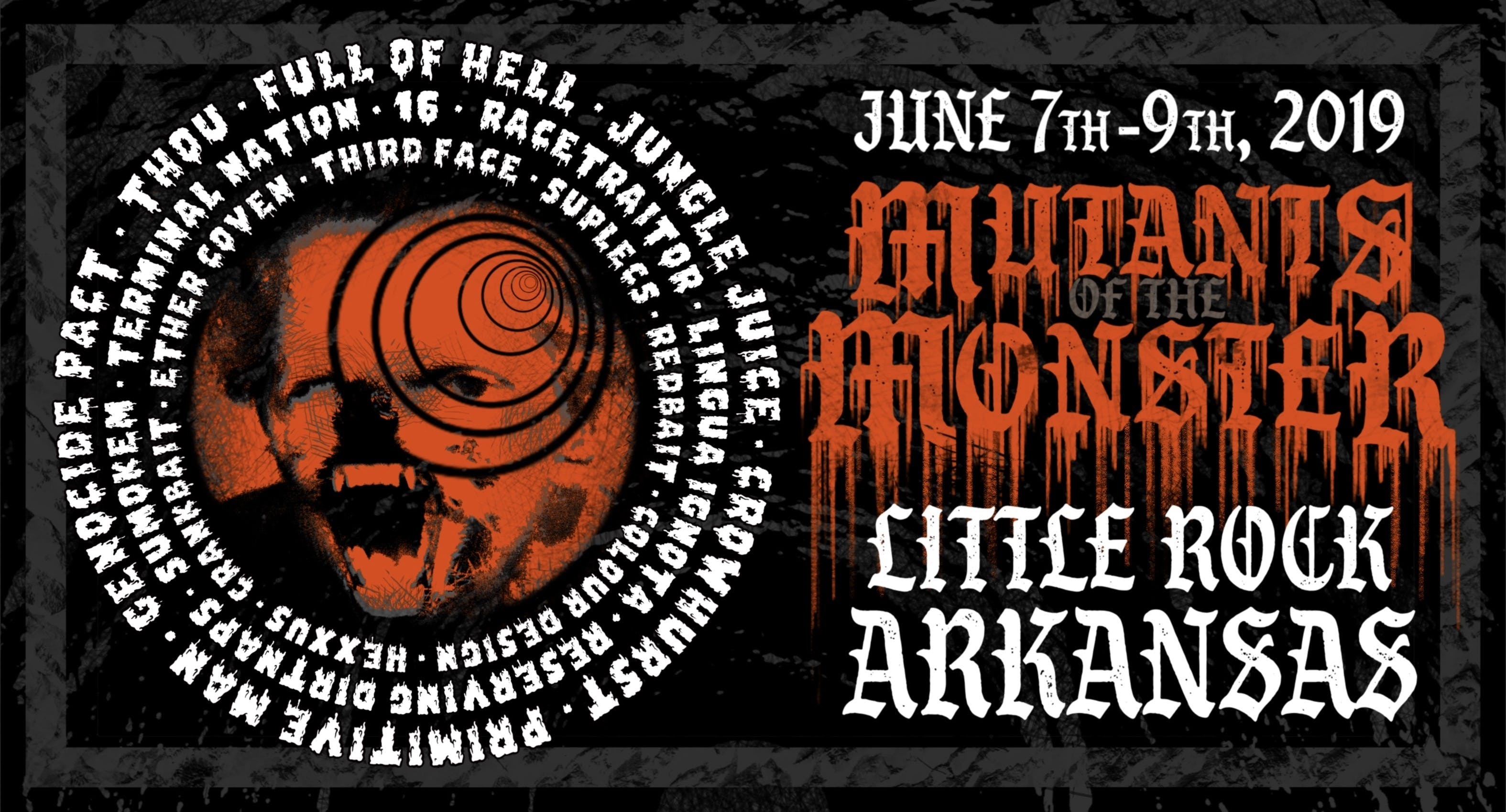 Full Of Hell, Genocide Pact, Thou And More To Play Mutants Of The Monster Fest In Arkansas