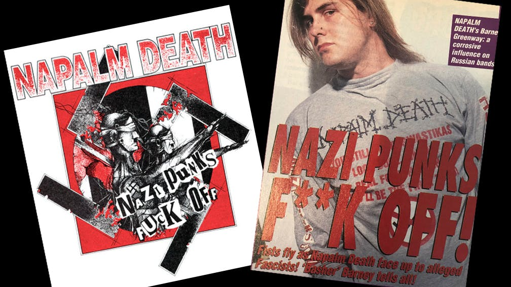 Remember That Time Napalm Death Defeated The Nazis?