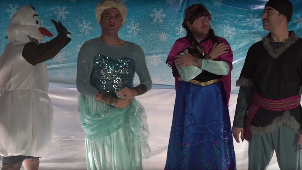Watch New Found Glory Cover Let It Go From Disney's Frozen