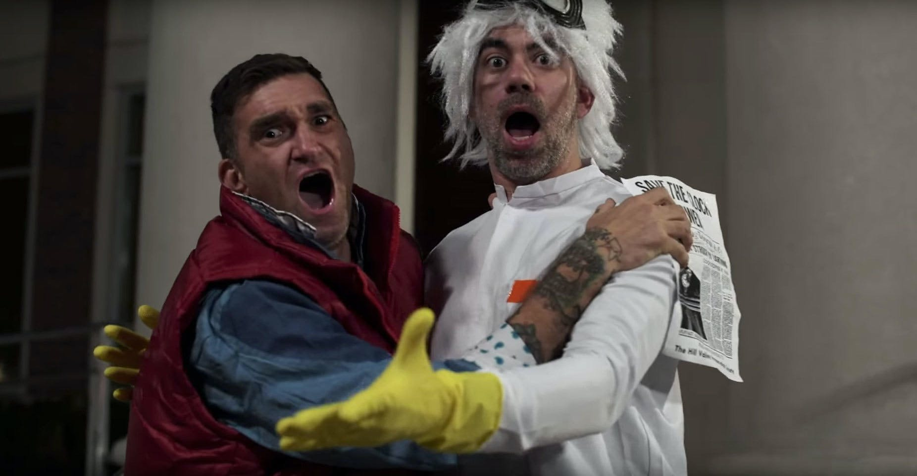 New Found Glory in The Power Of Love video