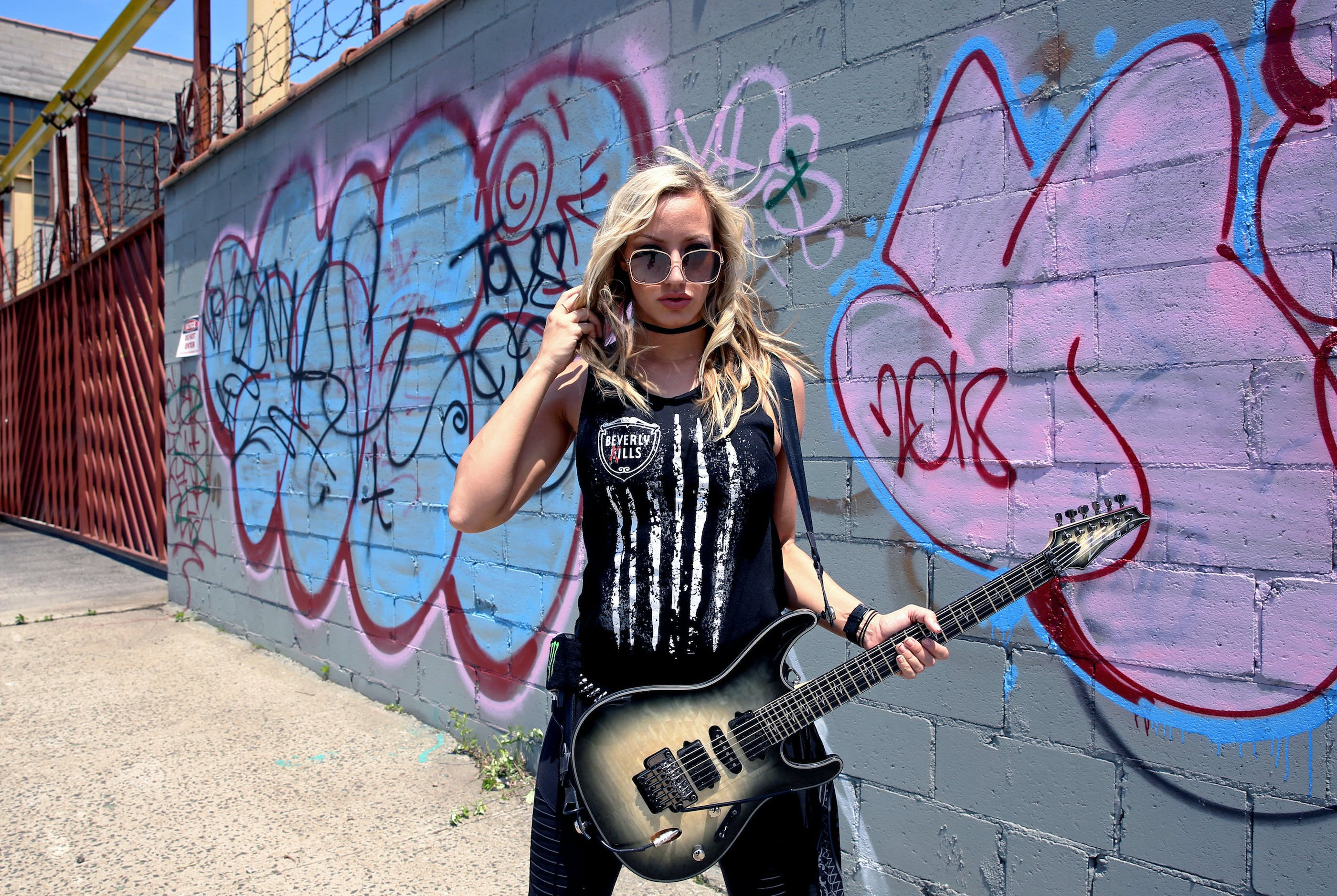 Nita Strauss Is The Hard-Working Guitar Hero That Rock Needs