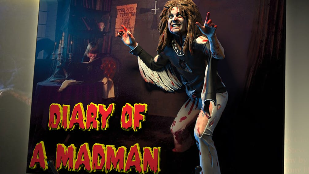 A 3D Vinyl Statue Version Of Ozzy Osbourne's Diary Of A Madman Artwork Has Been Released