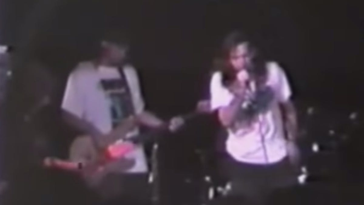 Watch Pearl Jam Play Their First Live Show Ever In 1990