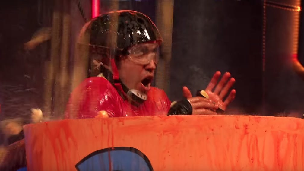 Watch Pete Wentz Get Covered In Slime In The Trailer For Nickelodeon's Double Dare