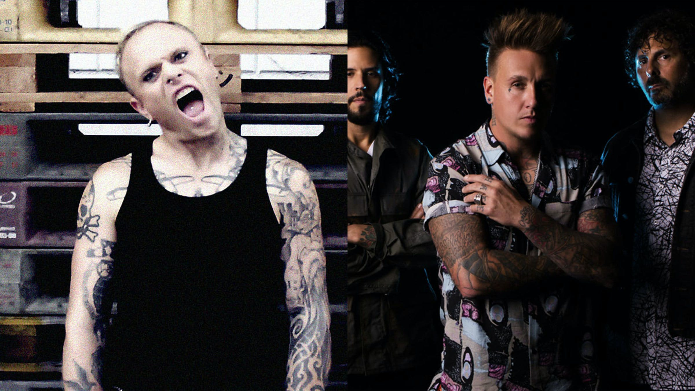 Watch Papa Roach Perform The Prodigy's Firestarter At Sonic Temple Art & Music Festival