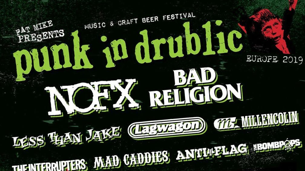 NOFX Are Bringing Their Punk In Drublic Festival To Slam Dunk