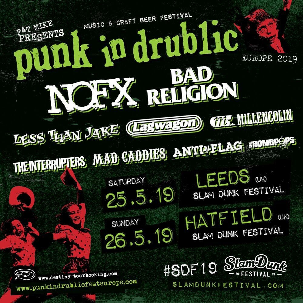 Punk In Drublic Slam Dunk 2019