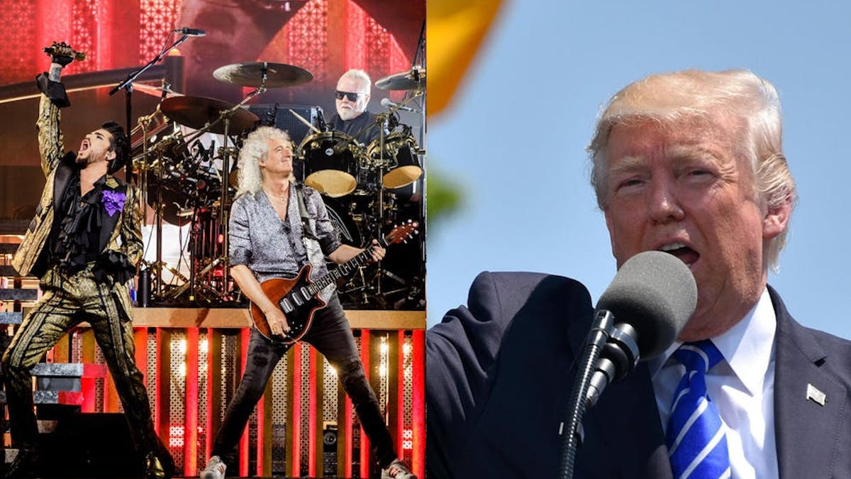 Queen Stop Donald Trump From Using We Will Rock You