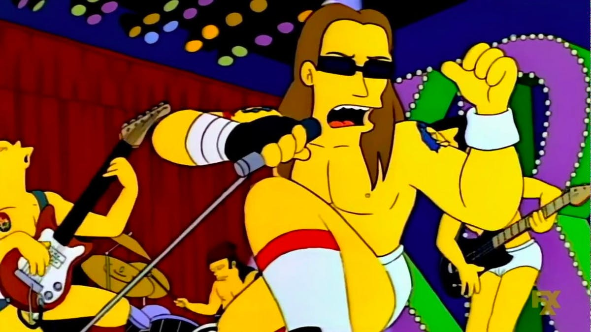14 Rock Songs That Featured In The Simpsons Kerrang
