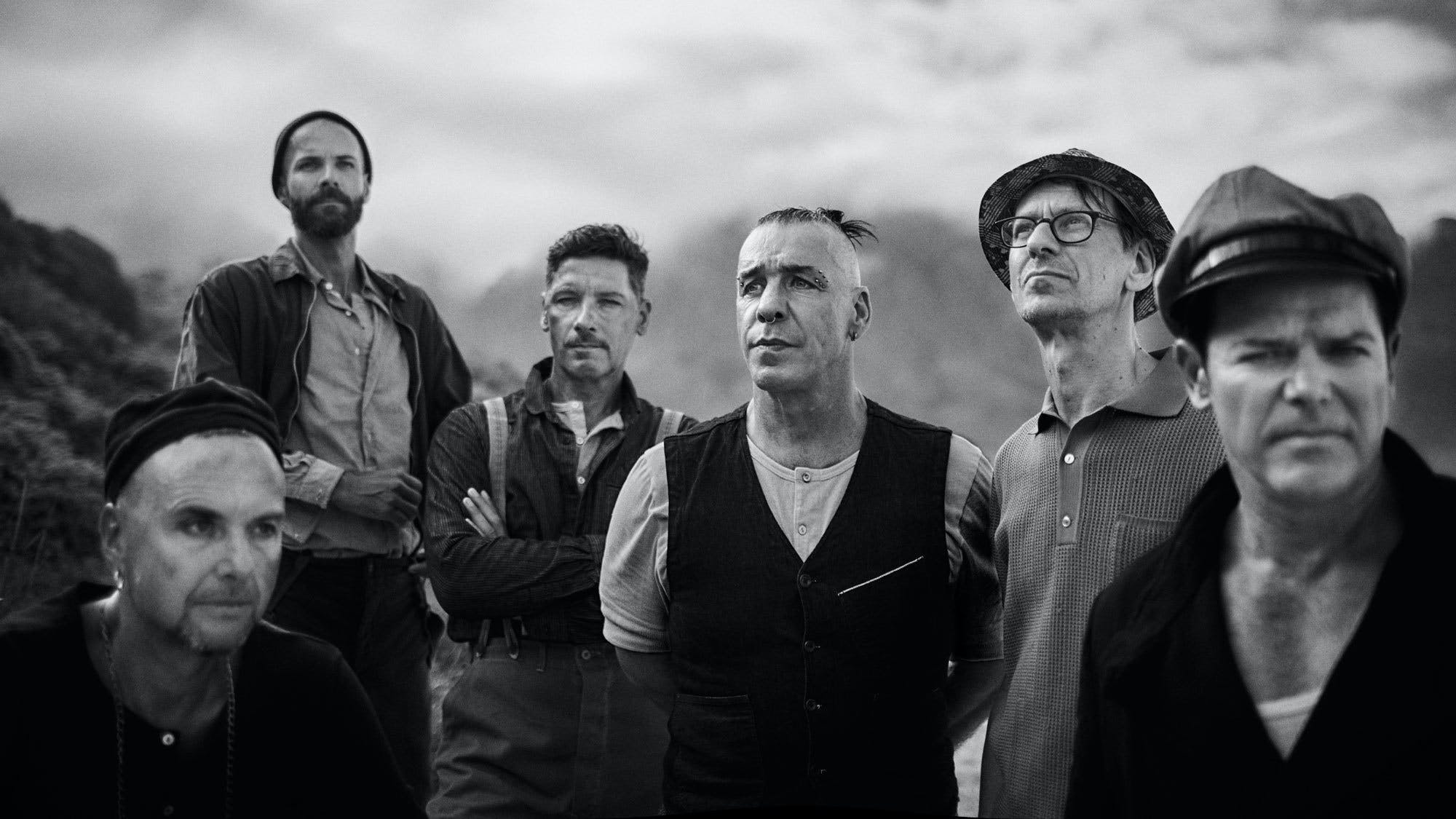 Rammstein Reveal New Album Cover And Tracklisting, Tease Another Three Songs