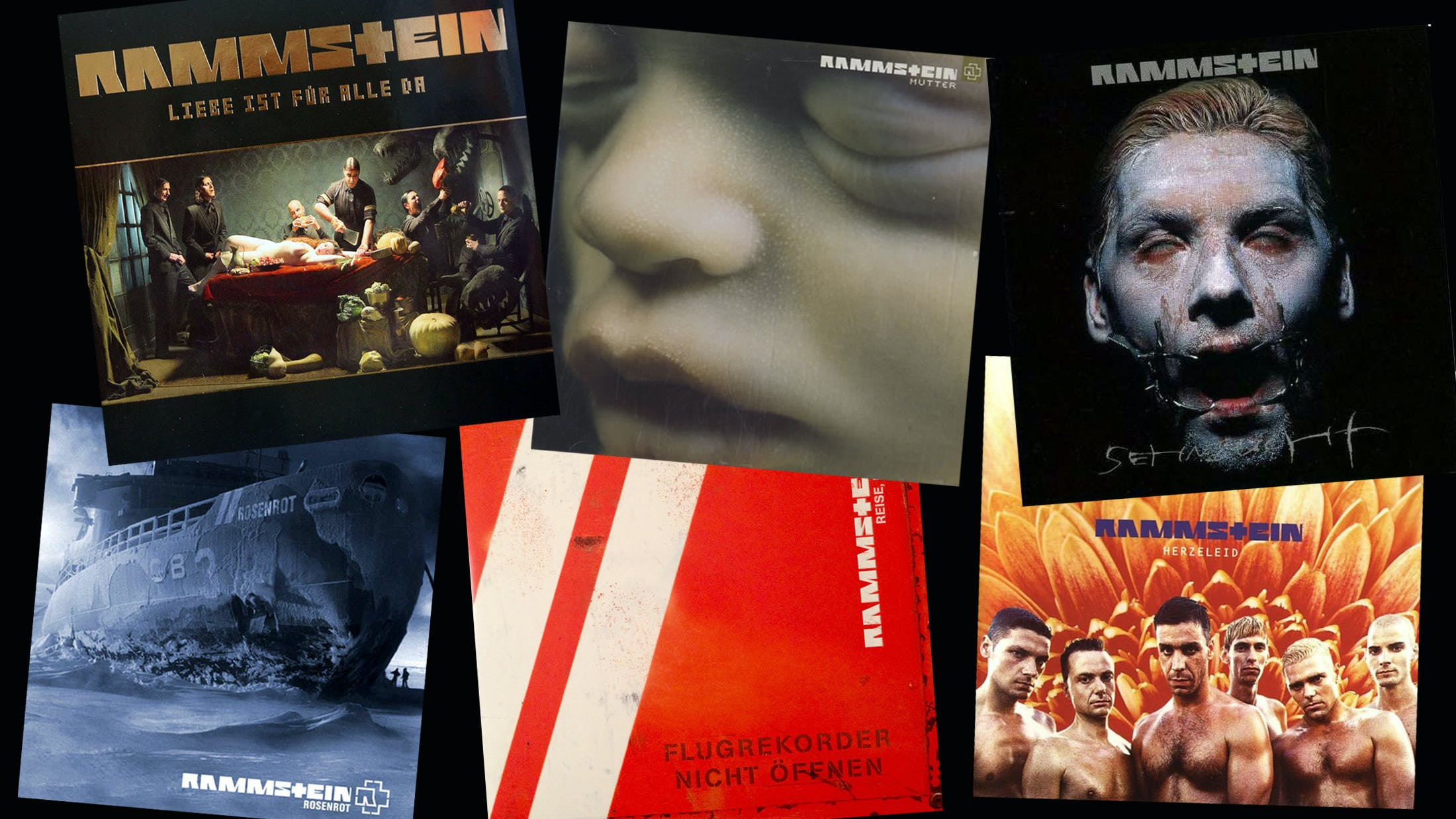Every Rammstein Album Ranked From Worst To Best
