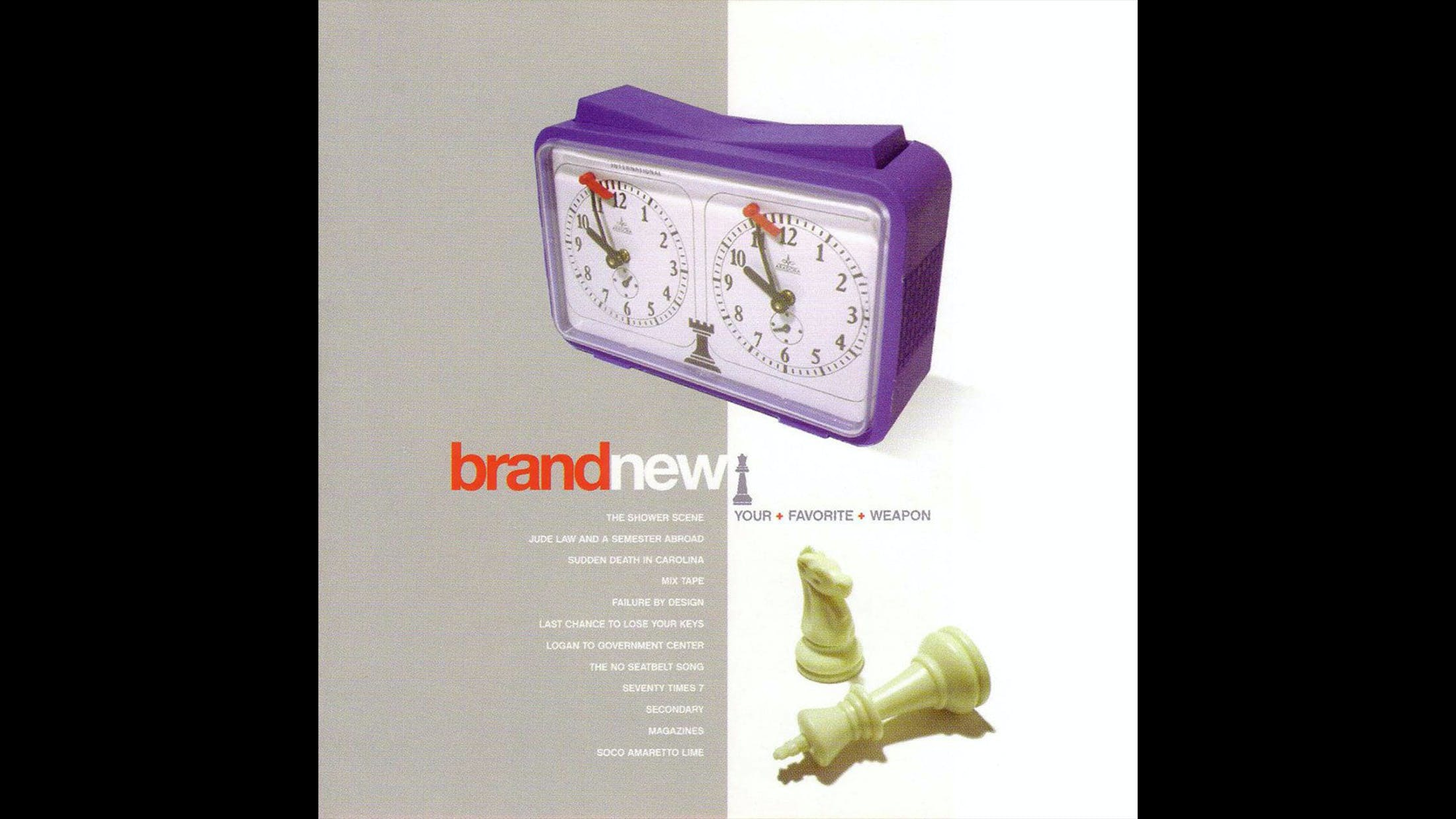 28. Brand New - Your Favourite Weapon (2001)