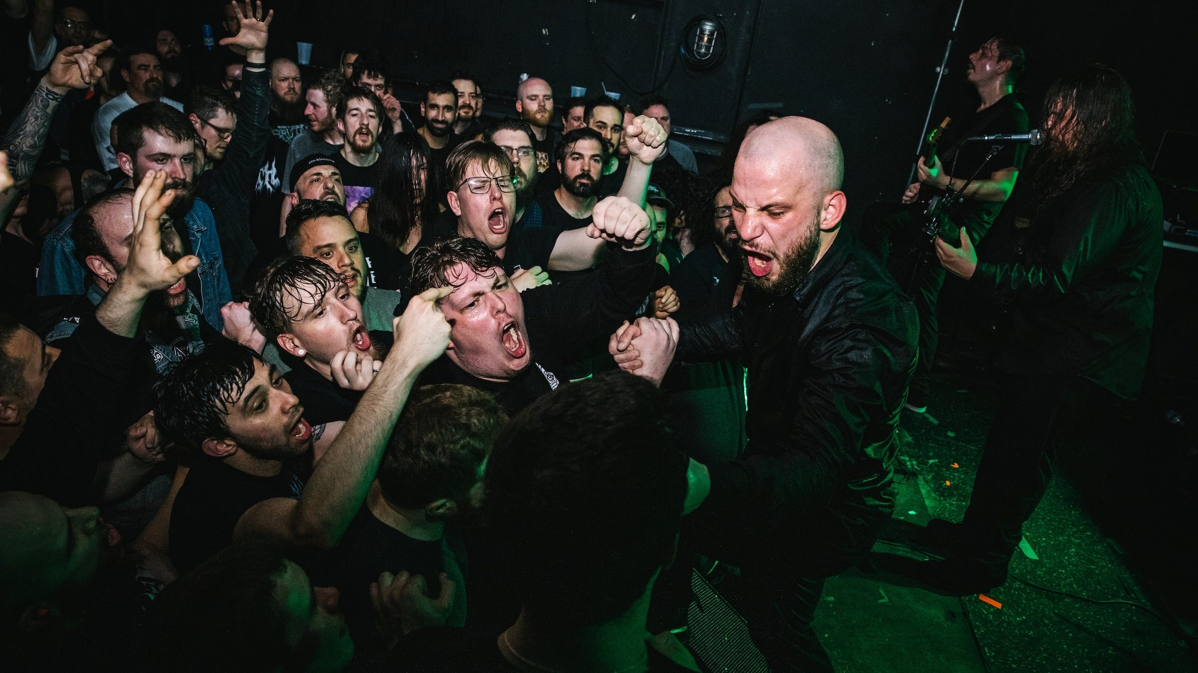 Photos: Rivers Of Nihil And More Bring Chaos To Brooklyn