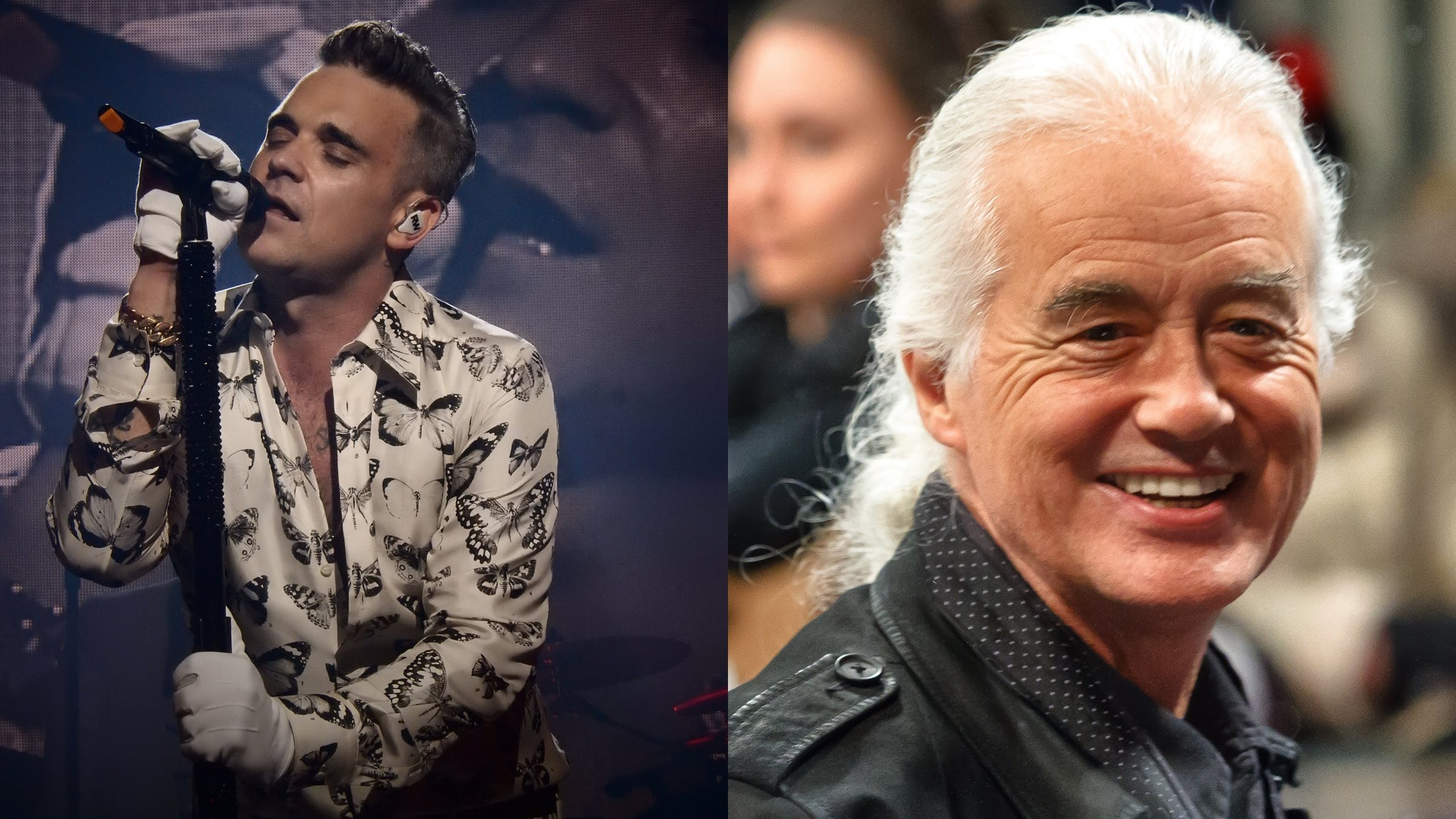 Robbie Williams Uses Black Sabbath To Torment His Neighbour, Jimmy Page