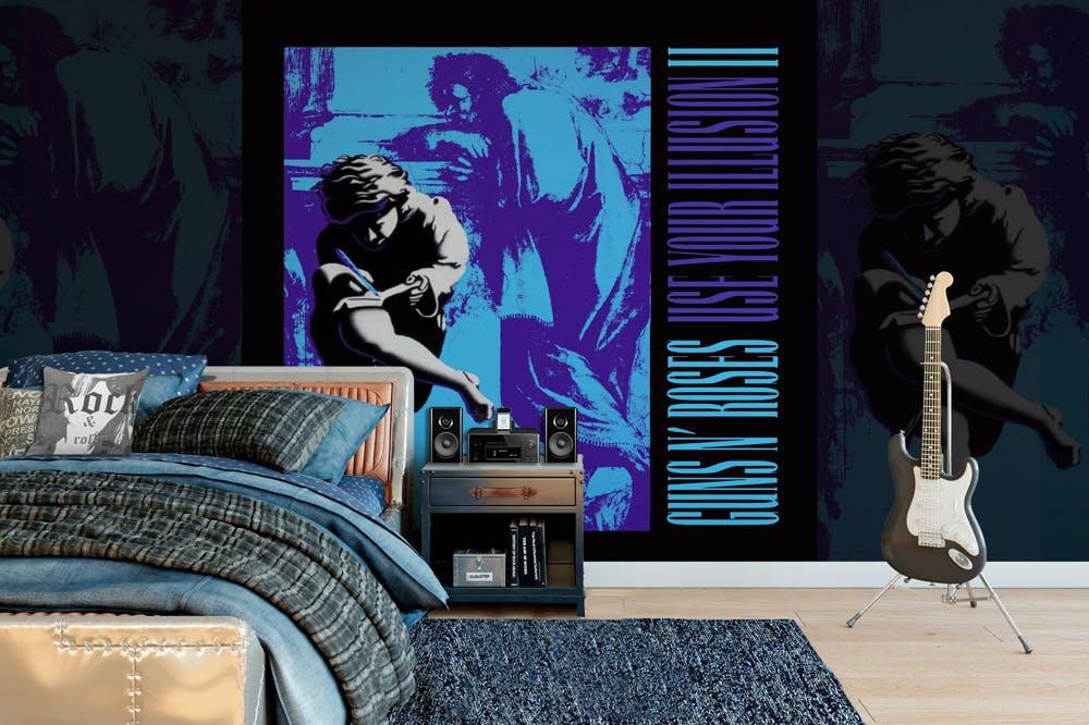 Rock Roll Mural Guns N Roses
