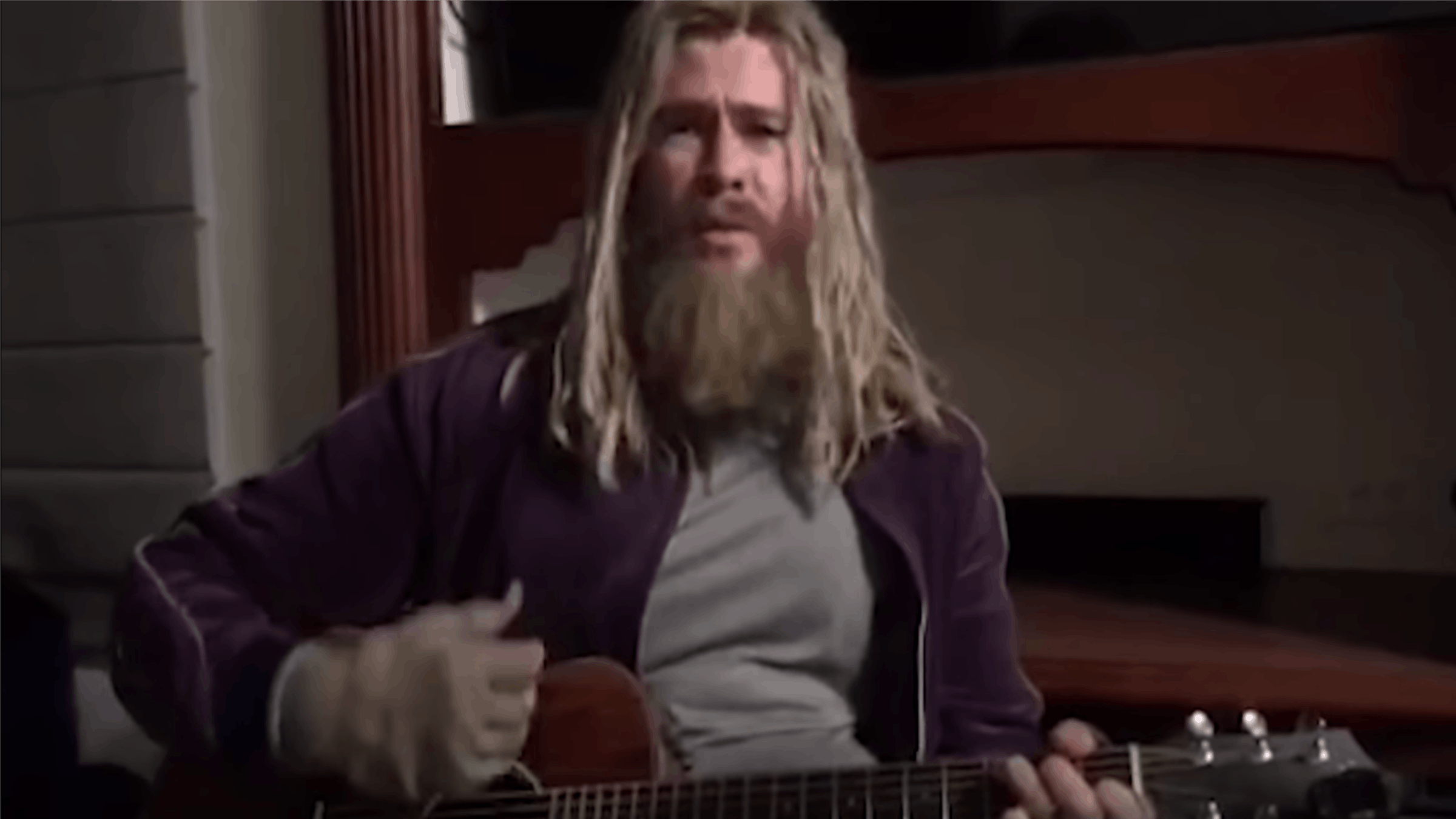 Watch Fat Thor Perform An Acoustic Rendition Of Nine Inch