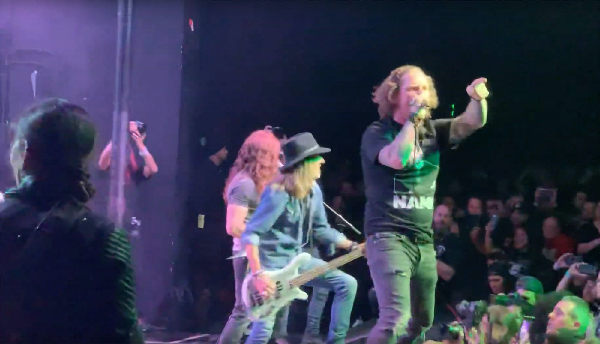 Watch Corey Taylor, Dave Grohl And More Cover Pantera's Walk