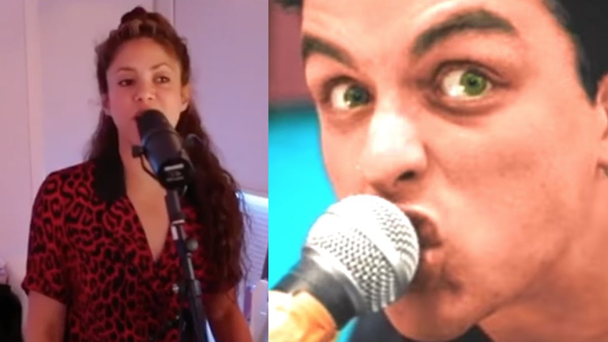 Watch Shakira Cover Green Day's Basket Case