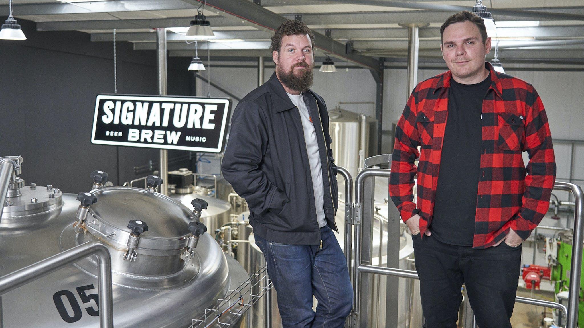 Signature Brew Press Shot