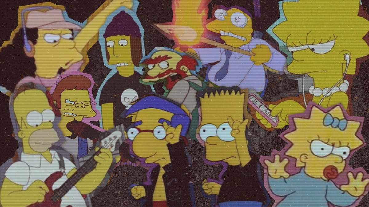 The 50 Most Metal Characters From The Simpsons