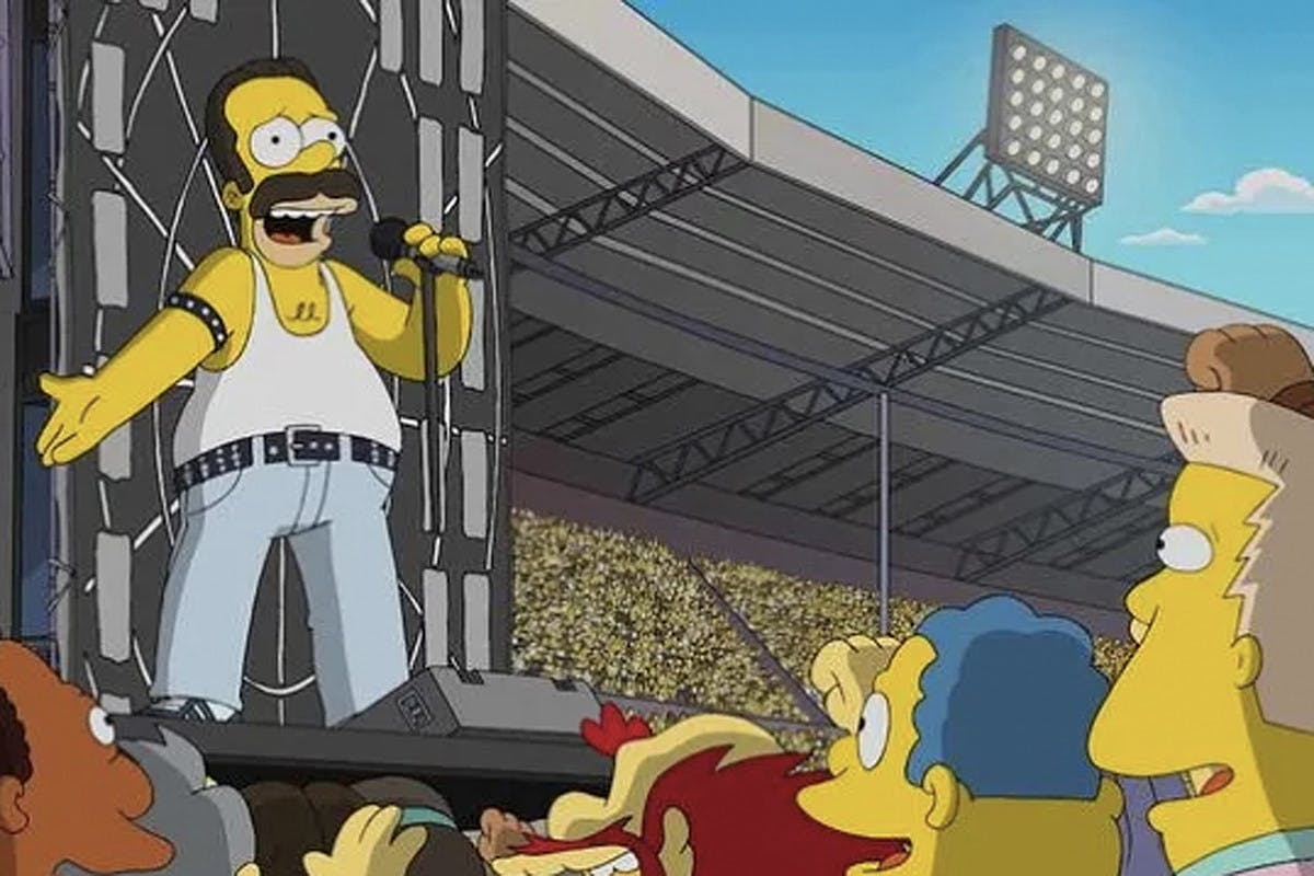 The Simpsons Recreate Queen's Classic Live Aid Performance In New Episode