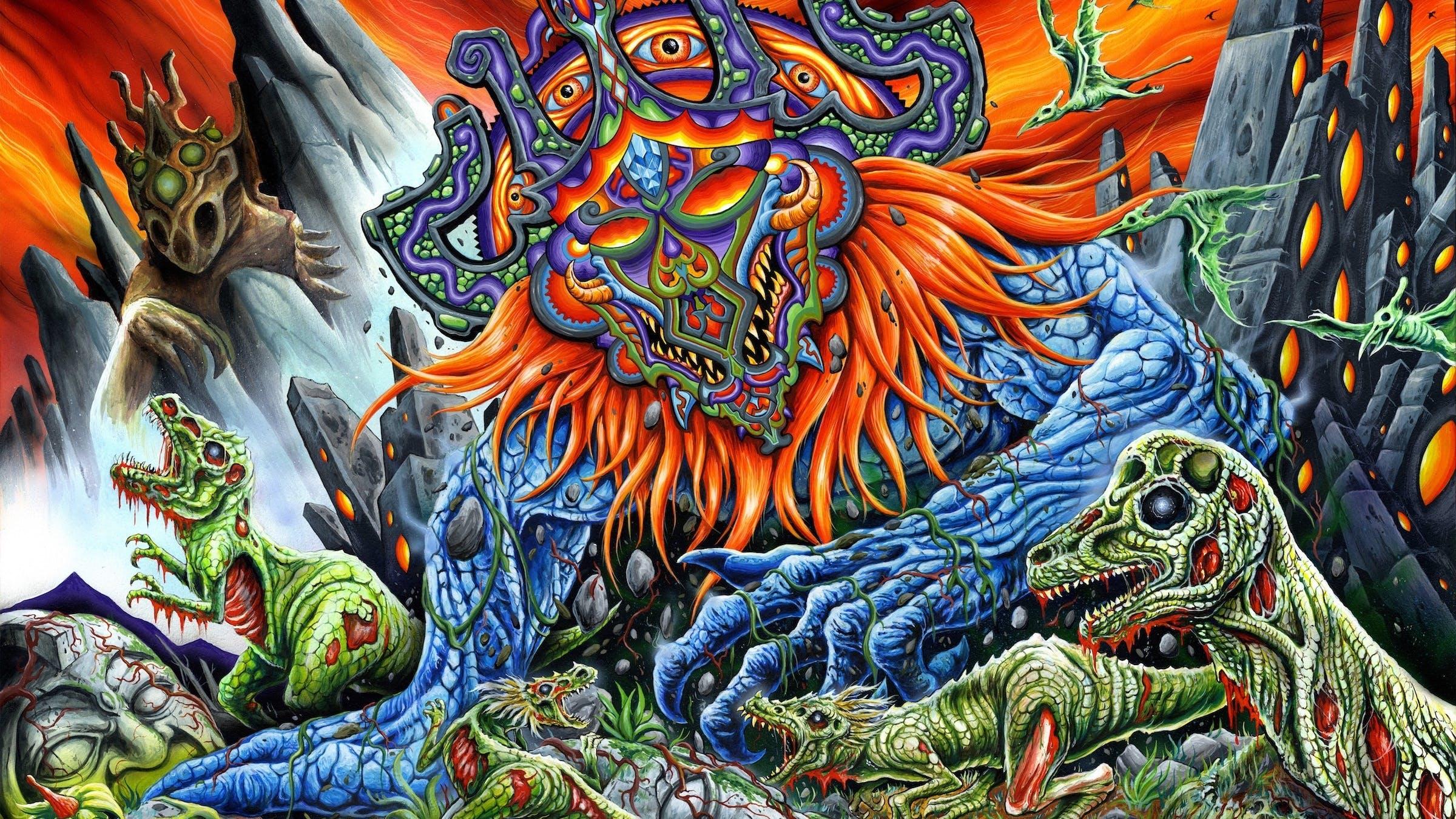 Skinner's Doom Metal Art Is A Lovecraftian Dream